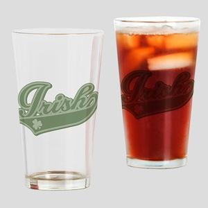 Irish [Baseball Style] Drinking Glass